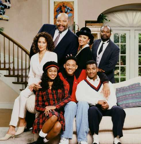 Fresh Prince of Bel-Air throwback cast photo