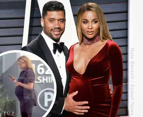 Russell Wilson pregnant Ciara crash