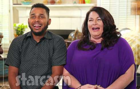 90 Day Fiance Molly and Luis laughing together