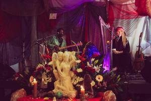 Fanny Starchild and Vegari Cendar Mystical Harp Music - Mystic Flow Festival 2018