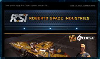 Star Citizen promo code April fools
