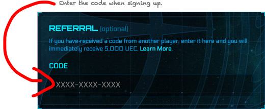 star citizen referral code example