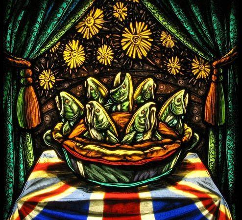 image logo for Starcrazypie.com showing a stargazy pie