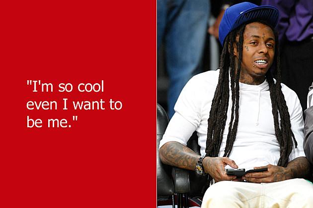 dumb celebrity quotes lil wayne - Lil Wayne Quotes