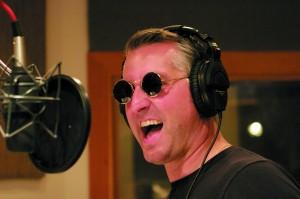 Michael Powers in the Studio