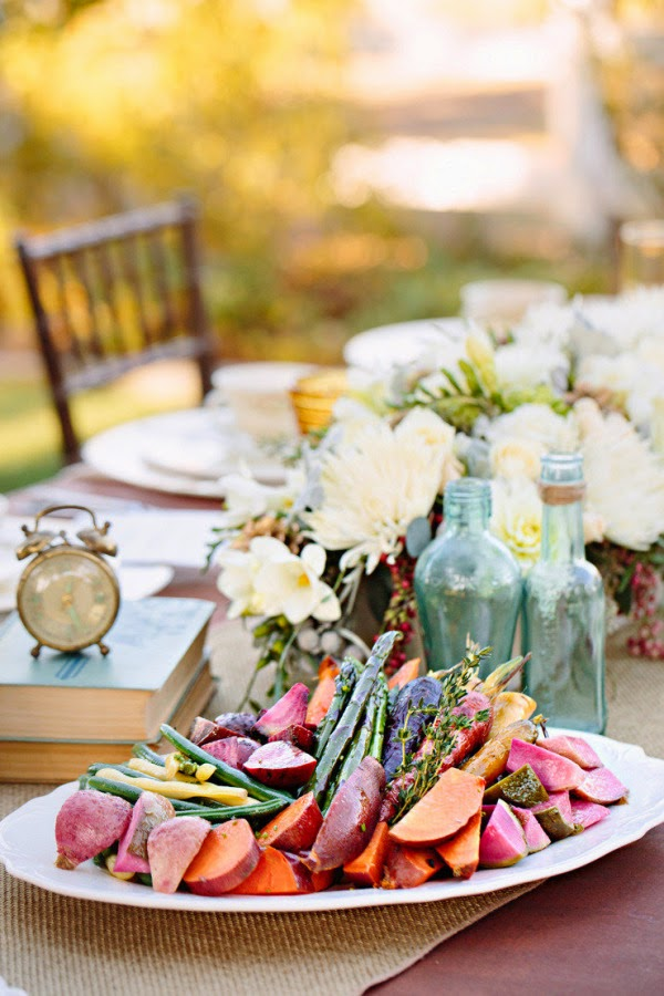 Trend Alert Family Style Reception Dining Stardust