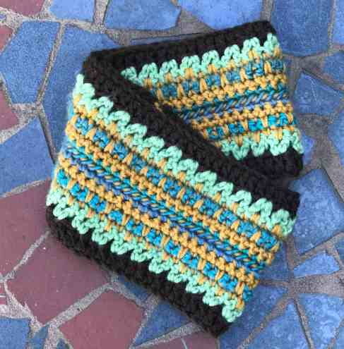 Boho Mint Ear Warmer