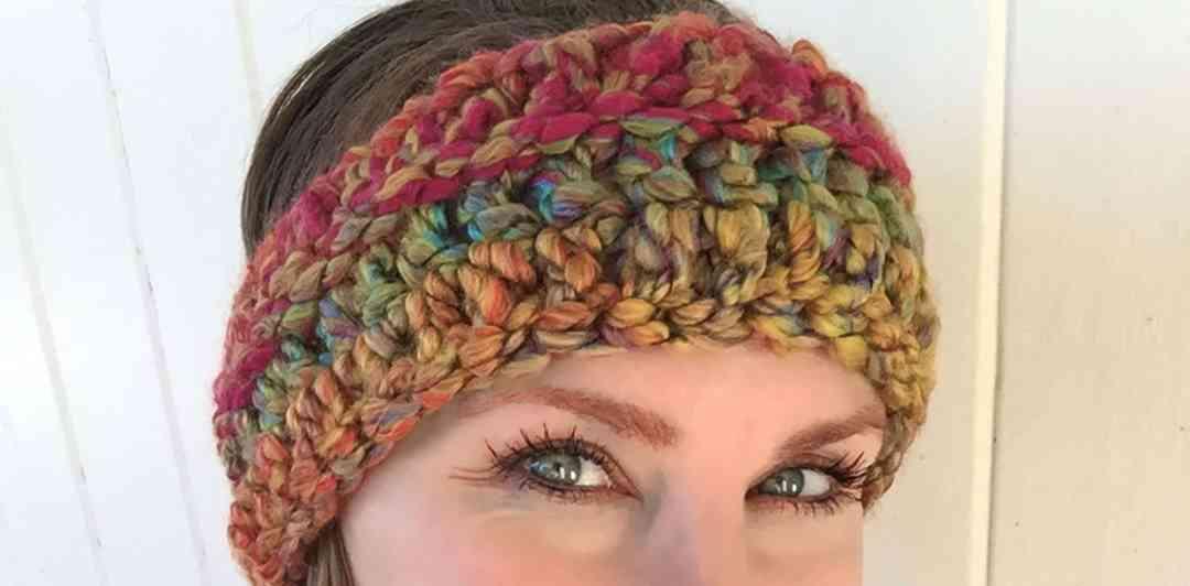 rainbow skies crochet headband pattern free crochet pattern
