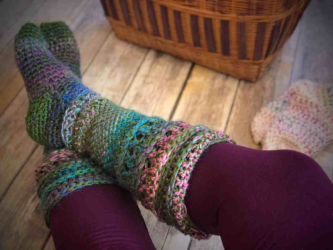 Anatomy Of A Sock Learn To Crochet Socks Complete Tutorial For