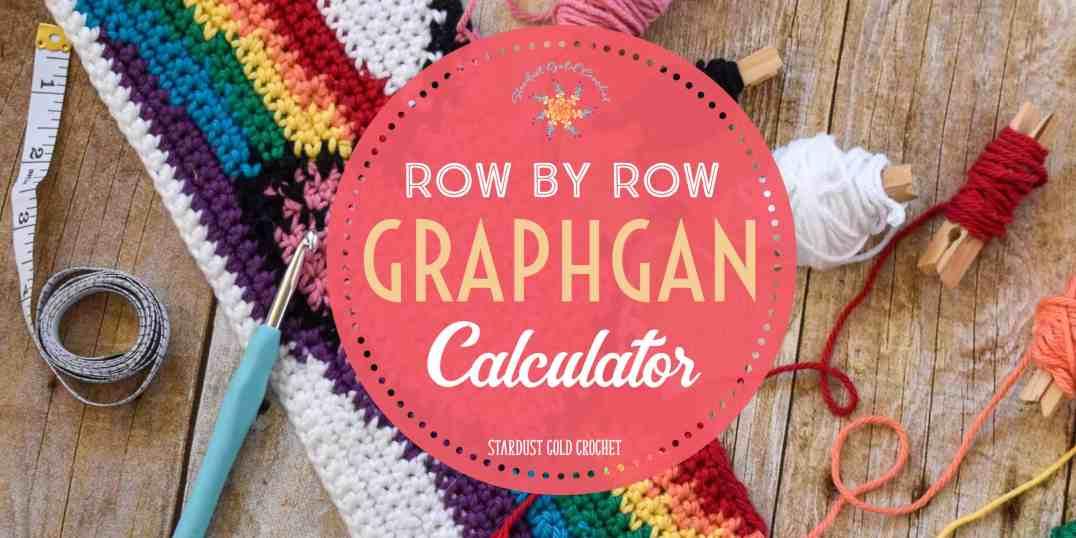 Row by Row Crochet Blanket Size Calculator