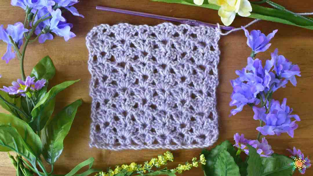 How To Crochet Paddle Stitch Crochet Video Tutorial For Beginners