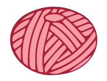 donut ball of yarn