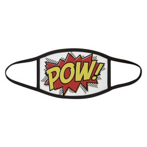 Wow! Comic Book Face Mask front