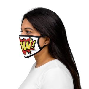 Wow! Comic Book Face Mask