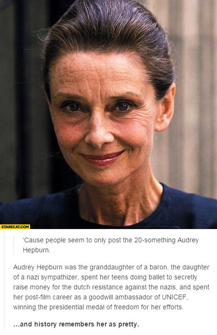 Audrey Hepburn Achievements Unicef