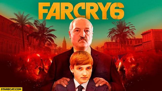 Farcry 6 Belarus Alexander Lukashenko | StareCat.com