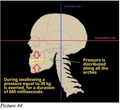 teeth pression
