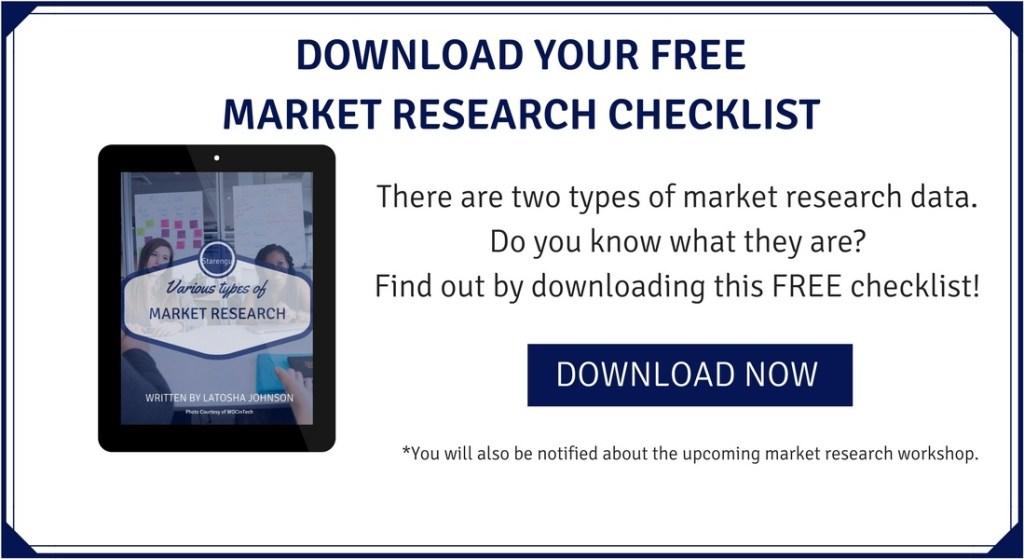 Starengu's Market Research Checklist