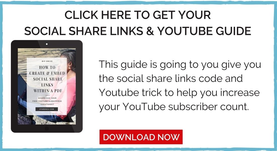 Starengu's Social Share Links and YouTube Code