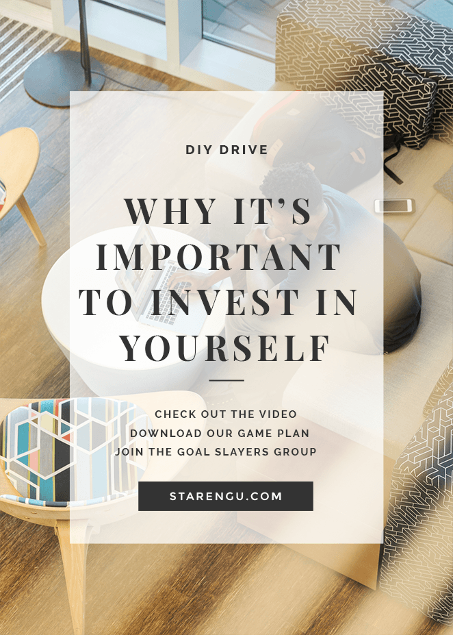 Why it's important to invest in yourself