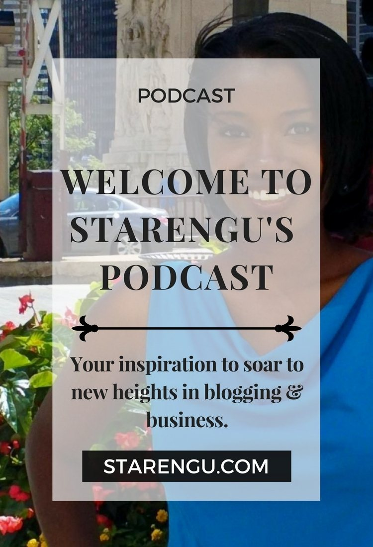 Starengu's Podcast LaTosha Johnson Blog template