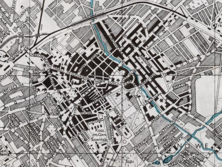 Plan Miasta Białegostoku z 1943r.
