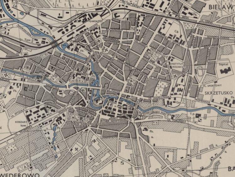 Plan Miasta Bydgoszczy z 1943r.