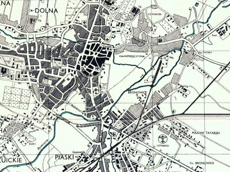 Plan Miasta Lublina z 1943r.