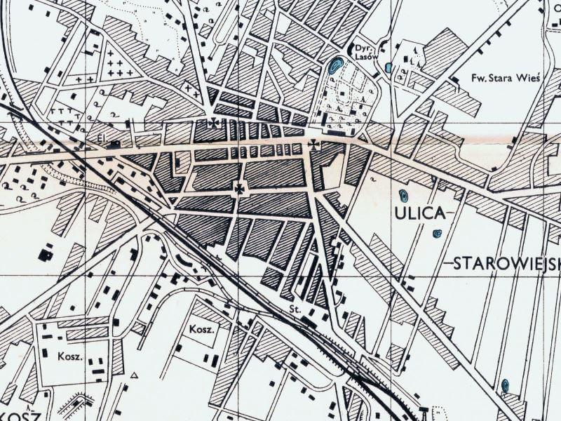 Plan Miasta Siedlec z 1943r.