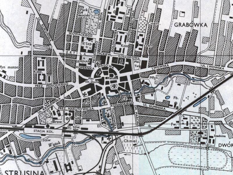 Plan Miasta Tarnowa z 1943r.