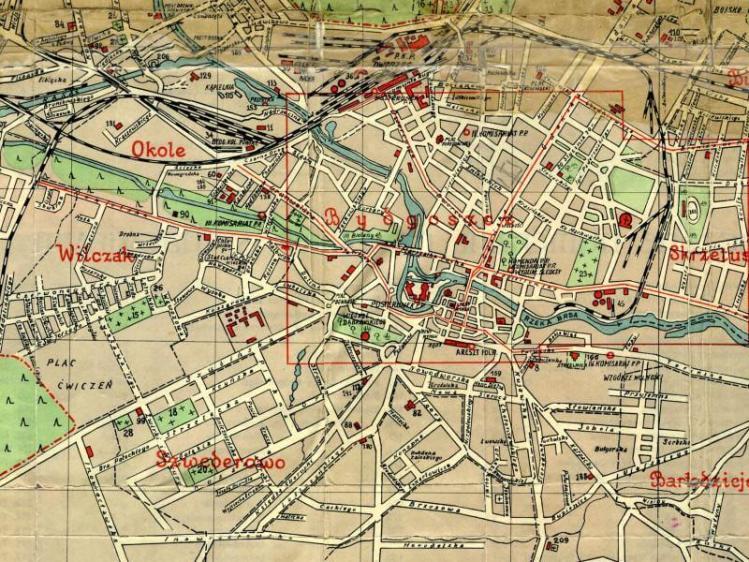 Plan Miasta Bydgoszczy z 1937r.