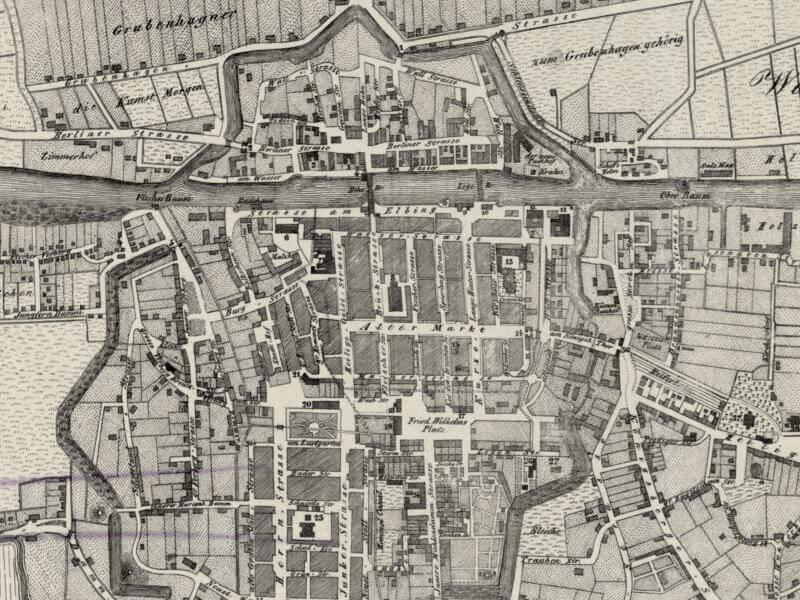 Plan Miasta Elbląga z 1830r.