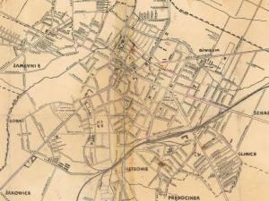 Plan Miasta Radomia z 1939r.