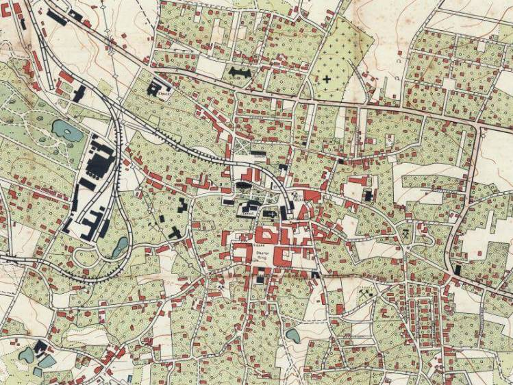 Plan Miasta Wieliczki z 1944r.