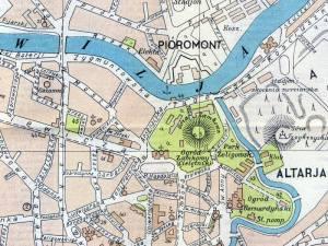 Plan Miasta Wilna z 1935r.