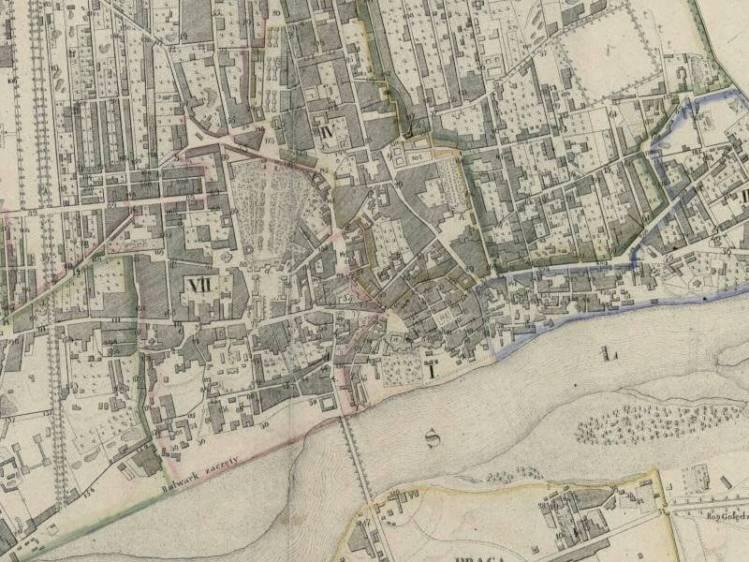 Plan Miasta Warszawy z 1827r.