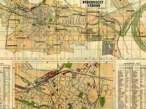 Plan Miasta Bydgoszczy z 1928r.