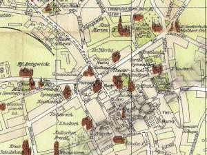 Plan Miasta Inowrocławia z 1910r.