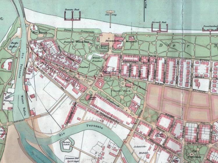 Plan Miasta Kołobrzegu z 1906r.