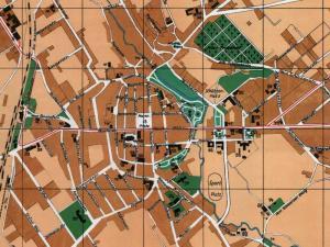 Plan Miasta Koszalina z 1930r.