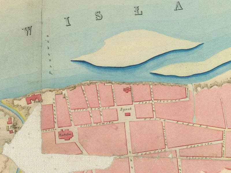 Plan Miasta Włocławka z 1851r.