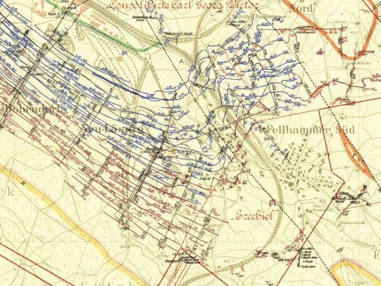 Mapa Walbrzycha Z 1905r 5 Nakladka Na Wspolczesne Mapy
