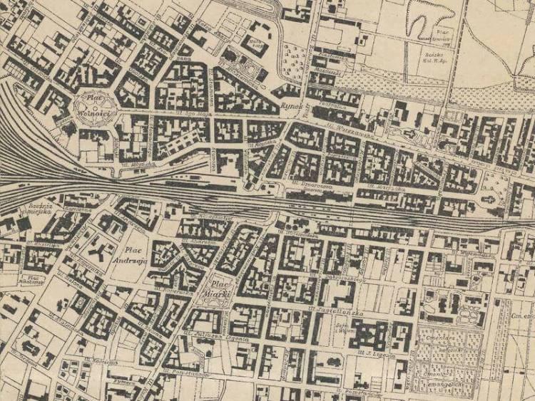 Plan Miasta Katowic z 1926r.