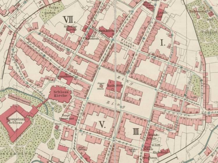 Plan Miasta Oleśnicy z 1911r.