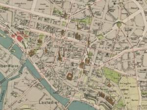 Plan Miasta Szczecina z 1909r.