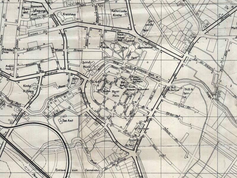 Plan Miasta Białogardu z 1937r.