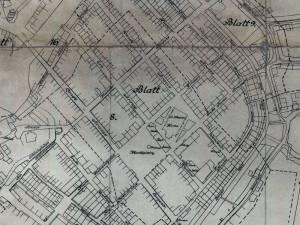 Plan Miasta Darłowa z 1915r.