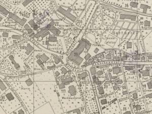 Plan Miasta Kudowy z 1939r.