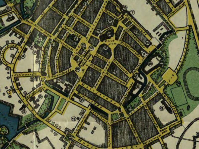 Plan Miasta Nysy z 1929r.