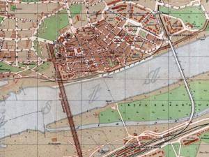 Plan Miasta Torunia z 1921r.